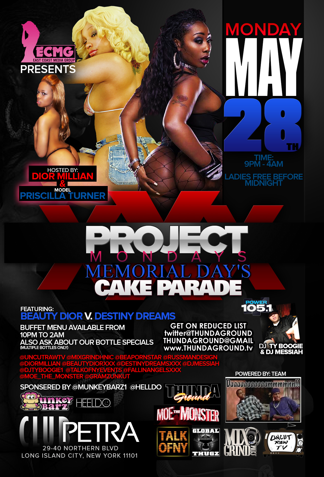 tonight…may 28th: project xxx mondays: beauty dior vs. destiny