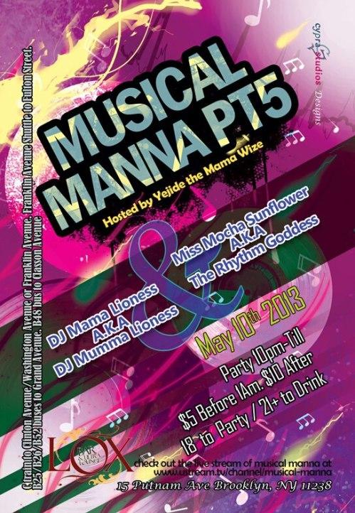 Musical Manna prt5 flyer (www.thundaground.tv)