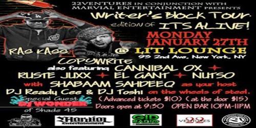 ITSALIVEshow JAN 27-shabaam rass kass copywrite cannox ruste nutso banner