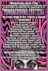 TGeroticART April 22nd Flyer_PRINTFOREALLY