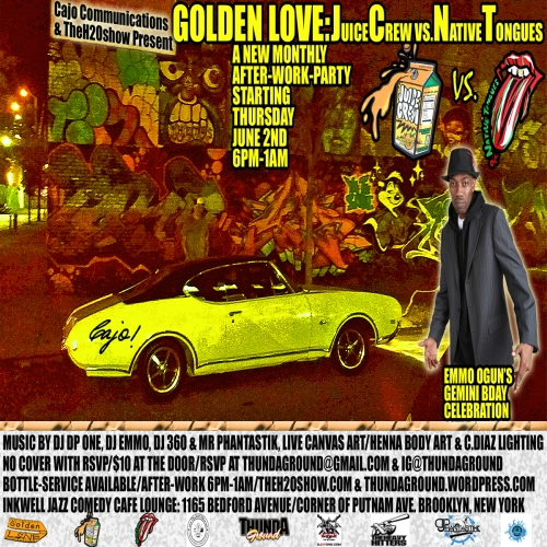 GOLDEN LOVE june 2 em2 bday flyer-JUICE VS NATIVE_SQUARE